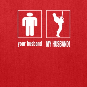 GUITARIST - MY HUSBAND  - Tote Bag