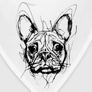 French Bulldog Long Sleeve Shirts - Bandana