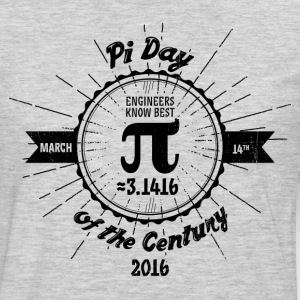 Engineers' Pi Day of the Century 2016 - Men's Premium Long Sleeve T-Shirt