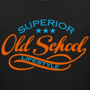 old school  T-Shirts - Men's Premium Tank