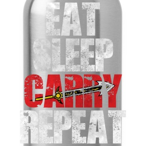 Eat Sleep Carry Repeat - Water Bottle