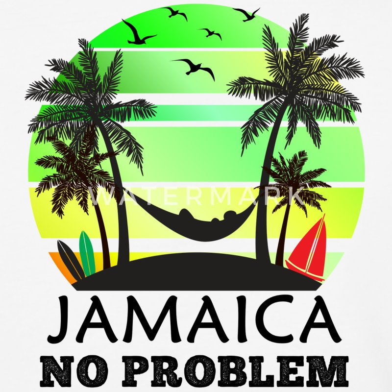 Jamaica No Problem T-Shirts - Baseball T-Shirt