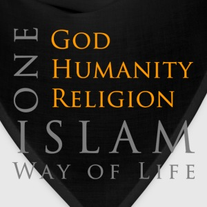 One God-One Humanity-One Religion-Islam T-Shirts - Bandana