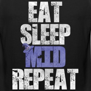 Eat Sleep Mid Repeat - Men's Premium Tank