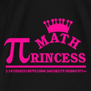 Math Princess - Men's Premium T-Shirt