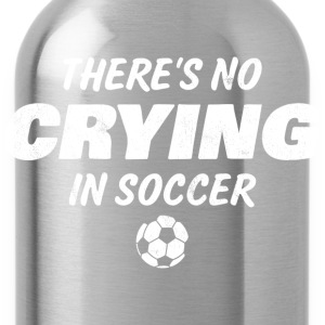 No Crying In Soccer Kids' Shirts - Water Bottle