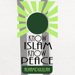Know Islam Know Peace Accessories - Contrast Hoodie