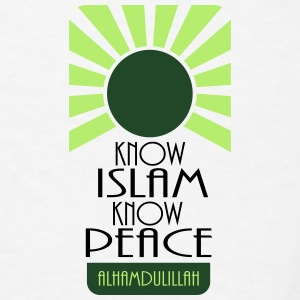 Know Islam Know Peace Accessories - Men's T-Shirt