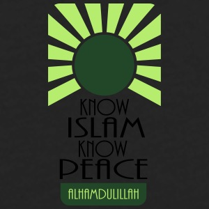 Know Islam Know Peace Mugs & Drinkware - Men's Premium Long Sleeve T-Shirt