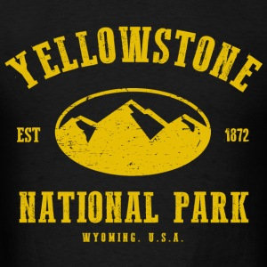 Yellowstone National Park Hoodies - Men's T-Shirt