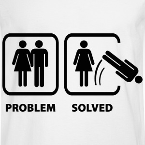 Problem Solved - Men's Long Sleeve T-Shirt