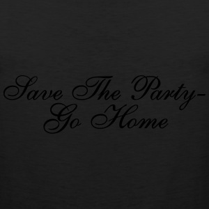 Save The Party T-Shirts - Men's Premium Tank