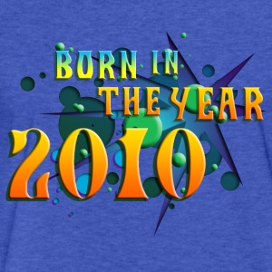 (022016born_in_the_year_2010_a) Sweatshirts - Fitted Cotton/Poly T-Shirt by Next Level
