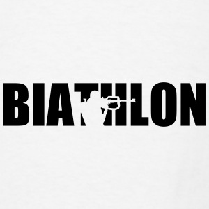 Biathlon Mugs & Drinkware - Men's T-Shirt