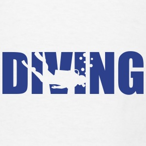 Diving Mugs & Drinkware - Men's T-Shirt