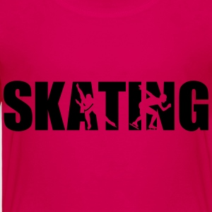 Skating Kids' Shirts - Toddler Premium T-Shirt