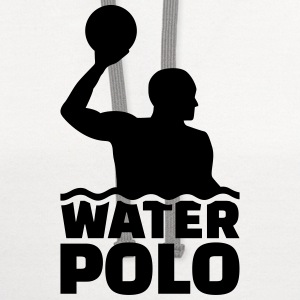 Water polo Women's T-Shirts - Contrast Hoodie