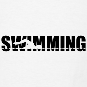 Swimming Mugs & Drinkware - Men's T-Shirt