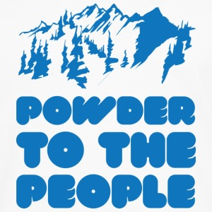 Powder To The People - Men's Premium Long Sleeve T-Shirt