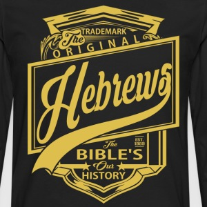 The Original Hebrews T-Shirts - Men's Premium Long Sleeve T-Shirt