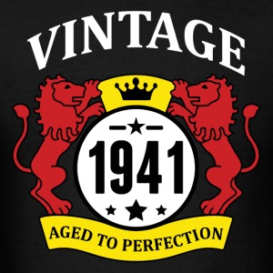 Vintage 1941 Aged to Perfection Hoodies - Men's T-Shirt