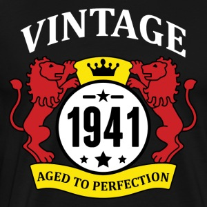Vintage 1941 Aged to Perfection Hoodies - Men's Premium T-Shirt