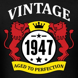 Vintage 1947 Aged to Perfection Hoodies - Men's T-Shirt