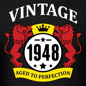 Vintage 1948 Aged to Perfection Hoodies - Men's T-Shirt