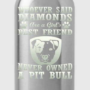 Pit Bull Are The Best Friend - Water Bottle