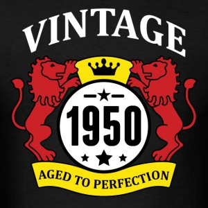 Vintage 1950 Aged to Perfection Hoodies - Men's T-Shirt