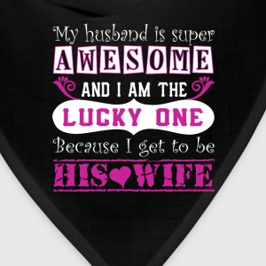 My Husband Is Super Awesome - Bandana