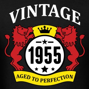 Vintage 1955 Aged to Perfection Hoodies - Men's T-Shirt
