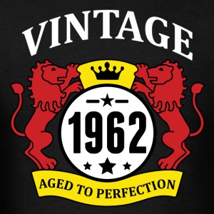 Vintage 1962 Aged to Perfection Hoodies - Men's T-Shirt