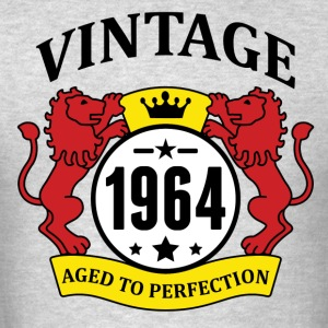 Vintage 1964 Aged to Perfection Hoodies - Men's T-Shirt