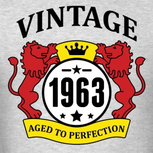 Vintage 1963 Aged to Perfection Hoodies - Men's T-Shirt