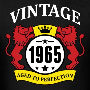 Vintage 1965 Aged to Perfection Hoodies - Men's T-Shirt