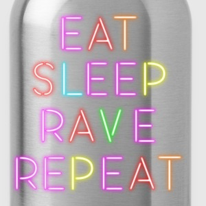 Eat, Sleep, Rave, Repeat - Water Bottle
