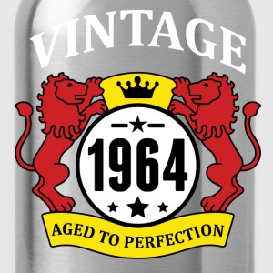 Vintage 1964 Aged to Perfection T-Shirts - Water Bottle