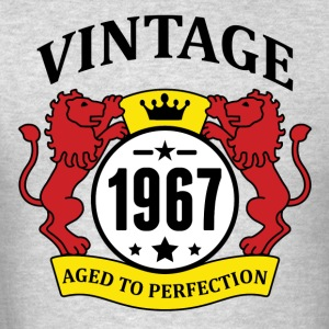 Vintage 1967 Aged to Perfection Hoodies - Men's T-Shirt