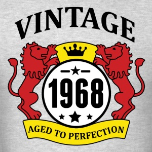 Vintage 1968 Aged to Perfection Hoodies - Men's T-Shirt
