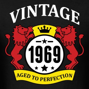 Vintage 1969 Aged to Perfection Hoodies - Men's T-Shirt