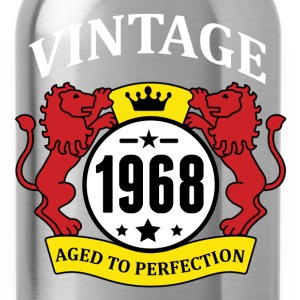 Vintage 1968 Aged to Perfection T-Shirts - Water Bottle