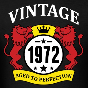 Vintage 1972 Aged to Perfection Hoodies - Men's T-Shirt