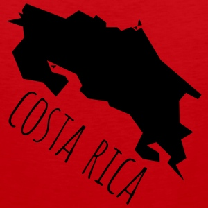 costa Rica Women's T-Shirts - Men's Premium Tank