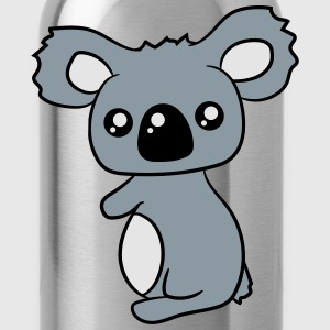 sweet little cute koala holds on T-Shirts - Water Bottle