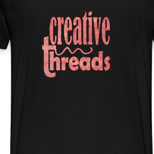 CreativeThreads-pinkwall Hoodies - Men's Premium T-Shirt