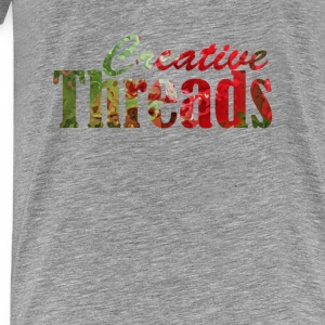 CreativeThreads-textpaint Tanks - Men's Premium T-Shirt
