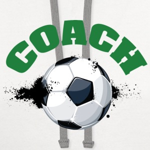 Soccer Coach - Contrast Hoodie