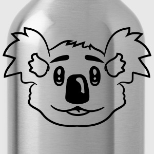 face head sweet cute little koala bear T-Shirts - Water Bottle