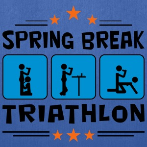 spring break triathlon T-Shirts - Tote Bag